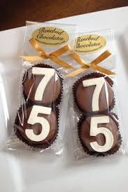 Favors For 75th Birthday by 75th Birthday Favor Cookie Connection Letter Number
