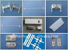 Roman Shade Parts - vertical blind component 3prong 4prong aluminum tilt rod for