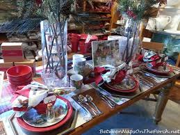 Pottery Barn Christmas Decorations 2014 by Thanksgiving U0026 Christmas Tablescapes With Pottery Barn