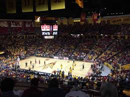 Wells Fargo Center Floor Plan Wells Fargo Arena Tempe Home Of Arizona State Sun Devils