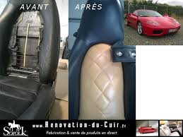 reparation siege cuir voiture pâte réparatrice sièges auto cuir sofolk
