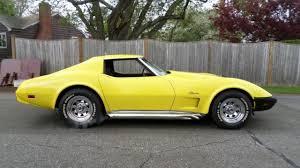 corvette l48 1975 corvette l48 350 original matching numbers 4 speed side