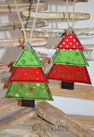 handmade christmas tree christmas decorations decorated with
