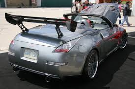 nissan convertible turbo nissan 350z convertible 11 1 madwhips
