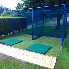 socketed golf cage net 42mm archery single bay nws