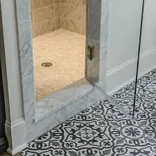 Mosaic Floor L Gray Mosaic Tiles Design Ideas Inside Floor Tile Bathroom Plan 10