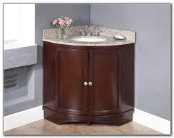 corner bathroom sink cabinet sinks and faucets home design