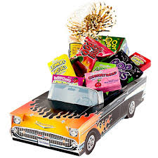amazon com great gifts baskets rod sweet retro candy car