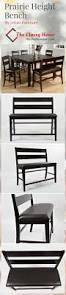 best 25 counter height bench ideas on pinterest diy outdoor