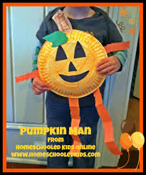 pumpkin man craft easy your children will love creating and