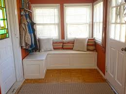 how to build small house window bench with storage bay home design ideas seat how to build
