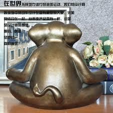 Statue For Home Decoration Ceramic Creative Retro Elephant Statue Home Decor Crafts