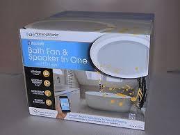 Led Bathroom Fan Bluetooth Bathroom Fan Ventilation Fan With Stereo Bluetooth