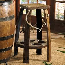 30 Inch Bar Stool Rustic Antler Log Bar Stool 30 Inch Reclaimed Furniture Design Ideas