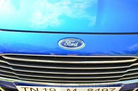 ford logo 2014 ford fiesta facelift review grille ford logo indian autos blog