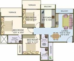 Post Hyde Park Floor Plans Hyde Park 1 2 3 Bhk Flats By Nisarg Group In Kharghar Mumbai