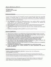 Sample Resume For Registered Nurse With No Experience by Acting Resume Template No Experience Http Www Resumecareer