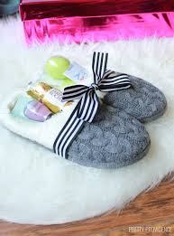 gift idea for a slippers gift idea