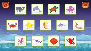 meetsource kids memory game sea creatures