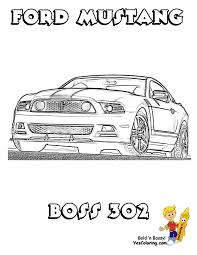 ford mustang car coloring page coloring pages for adults