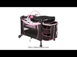Playard With Changing Table Disney Care Center Play Yard Bassinet Changing Table