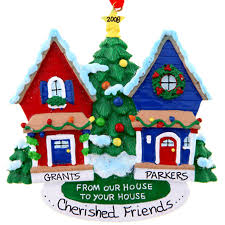 personalized friends christmas ornaments gifts for friends