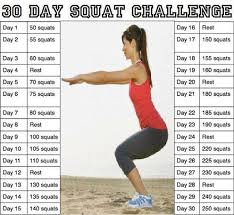 Why Won T The Challenge Work 30 Day Squat Challenge The Fitness Project
