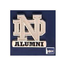 alumni pin nd logo alumni lapel pin notre dame jewelry