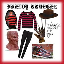 Freddy Halloween Costumes Freddy Krueger Skirt Diy Freddy Krueger Costume Polyvore