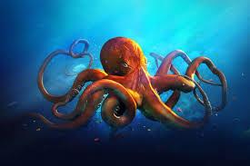 100 octopus decor octopus mirror from original sculpture