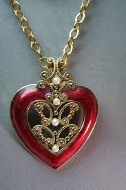 ebay necklace heart images 146 best avon jewelry images avon enamel and enamels jpg