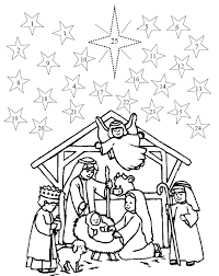 25 printable advent coloring pages print color craft