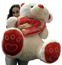 valentines day teddy bears valentines day teddy soft white oversized