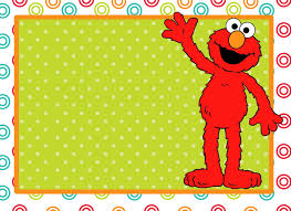 Birthday Invitation Card Template Free Download Elmo Party Invitations Template Create Elmo Birthday Party