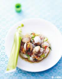 cuisiner poisson tartare de poisson à l avocat jus de coques et wasabi pour 6