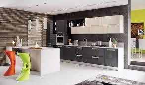 cuisine blanche et grise cuisine blanc laque et gris idées décoration intérieure farik us