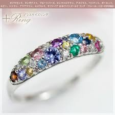 rings natural stones images Ciao_accessories 24 natural stone multicolored stones 14 kinds jpg