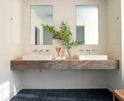 Bathroom Vanity Bench Chunky Timber Vanity Bench Top Bathrooms Power Rooms
