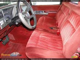 1993 Gmc Sierra Interior Red Interior 1993 Gmc Sierra 1500 Sle Regular Cab Photo 11