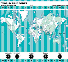 Time Zone Maps by Map Graphic Design Photorealistic Cgi Information Graphics