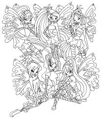 winx club coloring book kids coloring free kids coloring