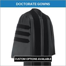 doctoral gowns academic regalia doctoral tam masters hoods gradshop