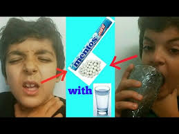 Water Challenge How To Do Triying The Mento With Water Challenge Do Not Try The Mento With
