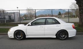 subaru 2004 custom subaru impreza wrx sti custom wheels rota torque r 18x9 5 et 30