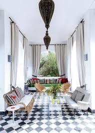 decoration jardin marocain les plus beaux salons marocains en images marie claire
