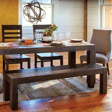 World Market Dining Room Table by Distressed Wood Donnovan Fixed Dining Table World Market