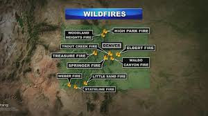 Wildfire John Denver by At Least 10 Wildfires Now Active In Colorado Cbs Denver