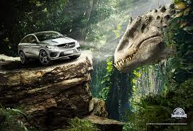 mercedes benz vehicles to star in new jurassic park movie motor