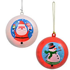 motion sensing singing ornaments set home