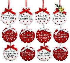 dear santa or message ornaments by burton